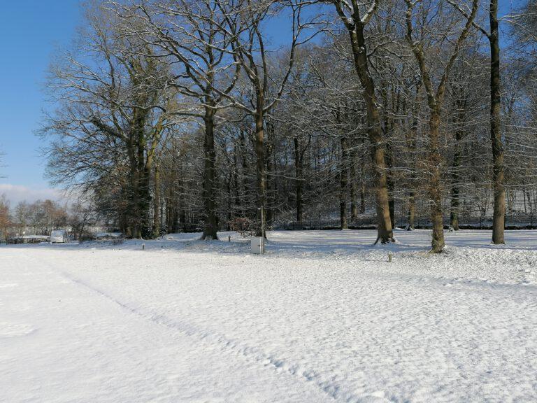 Schnee in Bad Segeberg